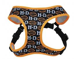 Harley-Davidson® Designer Wrap Adjustable Harness | Bar & Shield® Orange