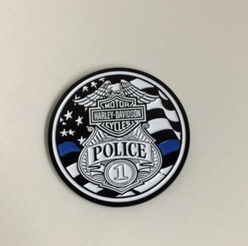 House of Harley-Davidson® Police Challenge Coin | Collectors' Quality