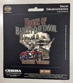 House Of Harley-Davidson® State Sticker