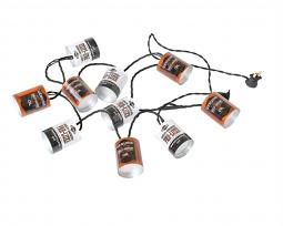 Harley-Davidson® String of Oil Can Party Lights