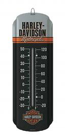 Harley-Davidson® Mini Thermometer | Fahrenheit & Celsius