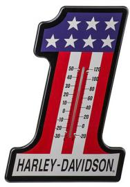 Harley-Davidson® #1 Racing Thermometer | Fade Resistant