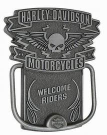 Harley-Davidson® Winged Willie G® Skull Door Knocker