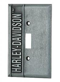 Harley-Davidson® Single Switch Plate | Vertical Logo