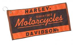 Harley-Davidson® Motorcycles Bar Towel