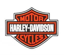 Harley-Davidson® Bar & Shield® Rubber Coaster Set | Set of Four