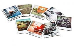 Harley-Davidson® Snapshot Coaster Set | Set of Eight