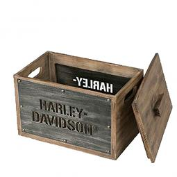 Harley-Davidson® Wood Storage Box