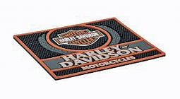 Harley-Davidson® Custom Motorcycles Rubber Bar Mat | Bar & Shield® Logo