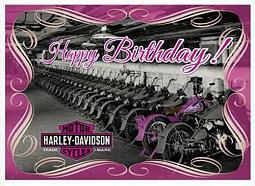 Harley-Davidson® One Of A Kind Birthday Card