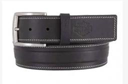 Harley-Davidson® Men's One Lane Belt | Accent Top Stitching