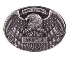 Harley-Davidson® Men's Born To Fly Belt Buckle | Collectible