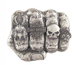 Harley-Davidson® Men's Fist Forward Belt Buckle