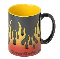 Harley-Davidson® Sculpted Flames Mug