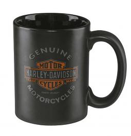 Harley-Davidson® Genuine Motorcycles Mug | Long Bar & Shield® Logo