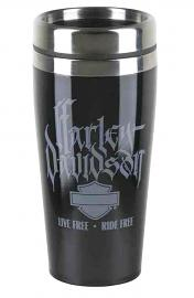 Harley-Davidson® Winter Travel Mug | Live Free - Ride Free