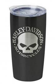 Harley-Davidson® Stainless-Steel Travel Mug | Willie G® Skull Graphics