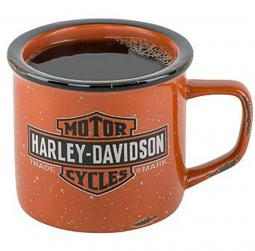 Harley-Davidson® Trademark Logo Campfire Mug | Long Bar & Shield®