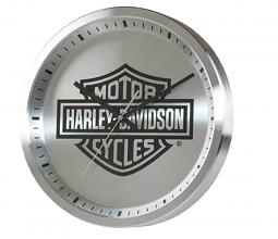 Harley-Davidson® Round Metal Clock | Bar & Shield® Logo