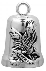 Harley-Davidson® Freedom Eagle Ride Bell | Forever Free | Bar & Shield®