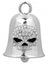 Harley-Davidson® Crystal Willie G® Skull Ride Bell