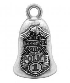 Harley-Davidson® Police Ride Bell | Eagle | Bar & Shield®