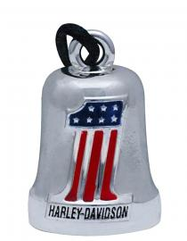 Harley-Davidson® Red, White & Blue #1 Ride Bell