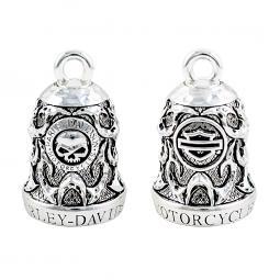 Harley-Davidson® Willie G® Skull & Tribal Flame Ride Bell