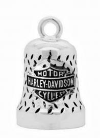 Harley-Davidson® Tread Chrome Bar & Shield® Ride Bell | Willie G® Skull on Back
