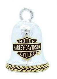 Harley-Davidson® Copper Bar & Shield® Hammered Ride Bell | Sterling Silver