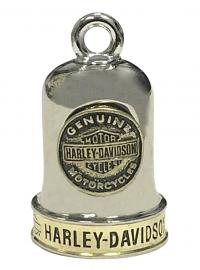 Harley-Davidson® Bar & Shield® Medallion Ride Bell | Brass & Steel Finish