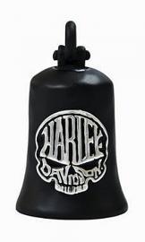 Harley-Davidson® Calavera Skull Ride Bell | Bar & Shield® on Back | Matte Black