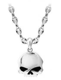 Harley-Davidson® Men's Willie G® Skull Necklace