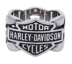 Harley-Davidson® Men's Chain Band Ring | Bar & Shield®