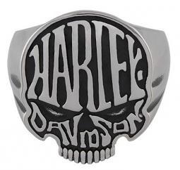 Harley-Davidson® Men's Calavera Skull Ring
