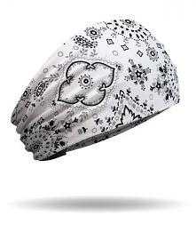 That's A Wrap!® Women's Classic Bandana Knotty Band™ Head Wrap | White