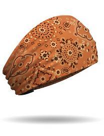 That's A Wrap!® Women's Classic Bandana Knotty Band™ Head Wrap | Orange