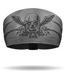 That's a Wrap!® Women's Branding Iron Skull Knotty Band™ Head Wrap