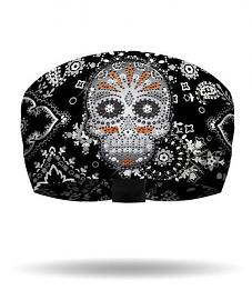 That's a Wrap!® Eye Candy Knotty Band™ Black Head Wrap | Rhinestone Embellishments