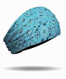 That's A Wrap!® Women's Foil Bandana Knotty Band™ Head Wrap | Turquoise