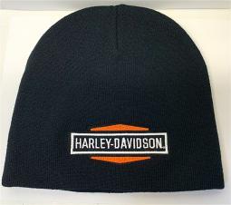 Harley-Davidson® Men's Hexagon Stacked Logo Knit Hat