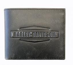 Harley-Davidson® Men's Crazy Horse Billfold