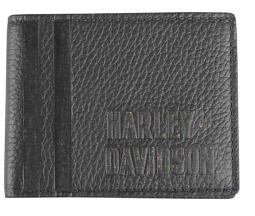 Harley-Davidson® Men's Punk 1903 Billfold Wallet | Removable Double ID