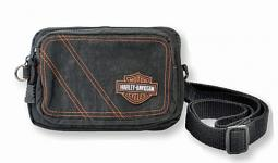 Harley-Davidson® Women's Rally 3-ln-1 Waistpack | Detachable Strap | Orange Series