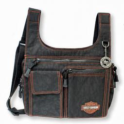Harley-Davidson® Women's Rally Ride Traveler Handbag | Orange Series