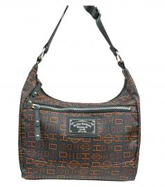 Harley-Davidson® Women's Silky Orange Hobo | Adjustable Shoulder Strap