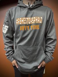 Ashes To Asphalt Jiffy Tune Pullover Hoodie | Grey