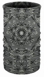 That's A Wrap!® Multi-Functional Tube Headwear | Pinstripe Bandana | Grey & Black