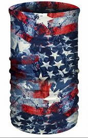 That's A Wrap® Multi-Functional Tube Headwear | Stars & Bars | Reversible