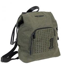 Harley-Davidson® Women's Distressed Denim Backpack